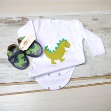 Подаръчен комплект Зелени Динозаври