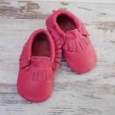 Бебешки буйки  Мокасини цвят малинка
