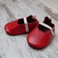 Бебешки буйки Червени балеринки